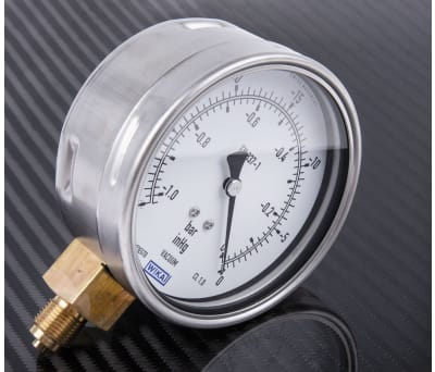 Product image for Vacuum gauge,0-30Hg