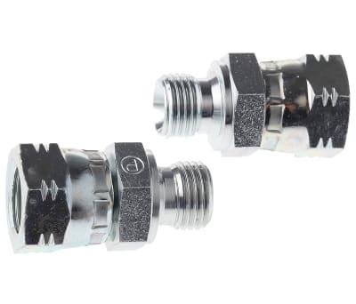 Hydraulic Straight Threaded Adaptors, Unions & Reducers