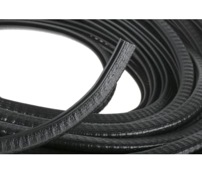 Product image for Sealing strip,PVC,wire insert,1-2,9x6.