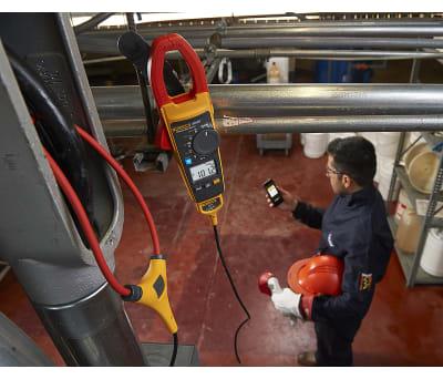 Product image for FLUKE 376 FC CLAMP METER FLUKE CONNECT