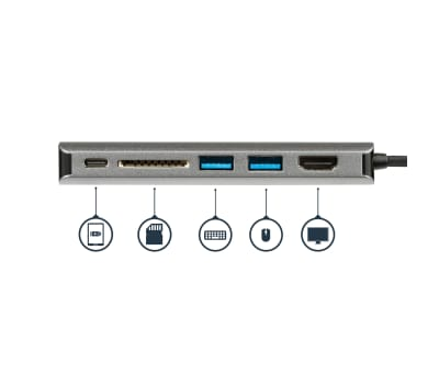 Product image for USB-C Multiport Adapter - 2 x USB 3.0 /