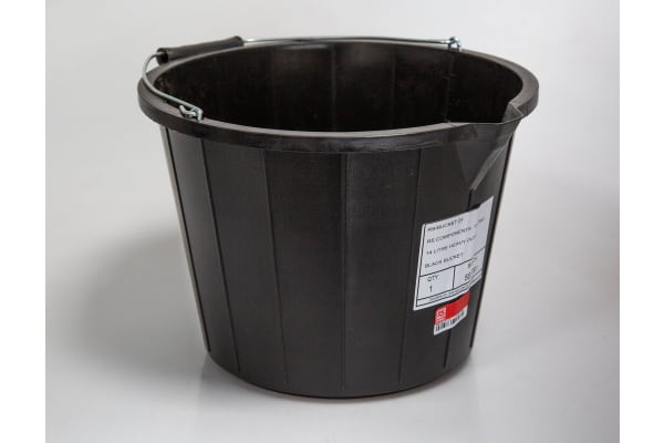 Product image for 14 LITRE HEAVY DUTY BLACK BUCKET
