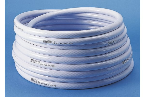 Product image for Aquavend water hose,White 10m L 19mm ID