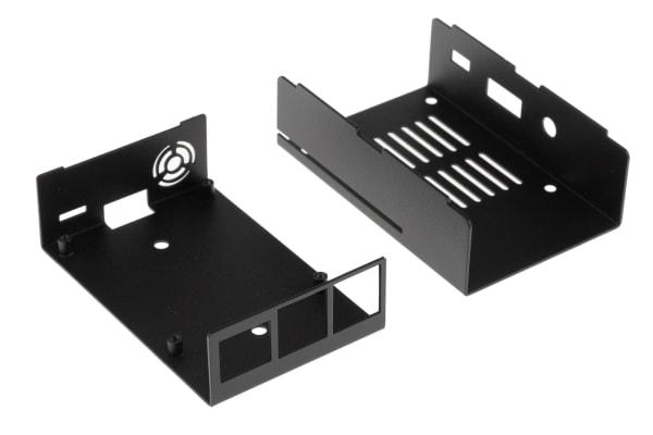Product image for KKSB RASPBERRY PI METAL CASE MODEL 3 (BL
