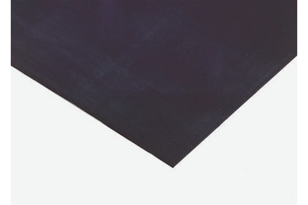 Product image for Natural Rubber, Black 1000x600x10mm