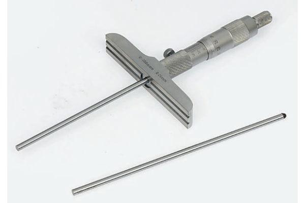 Product image for Metric Depth Micrometer,0-25mm range