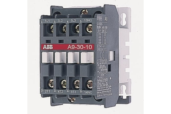 Product image for 1 NO CONTACTOR,5.5KW 110VAC COIL