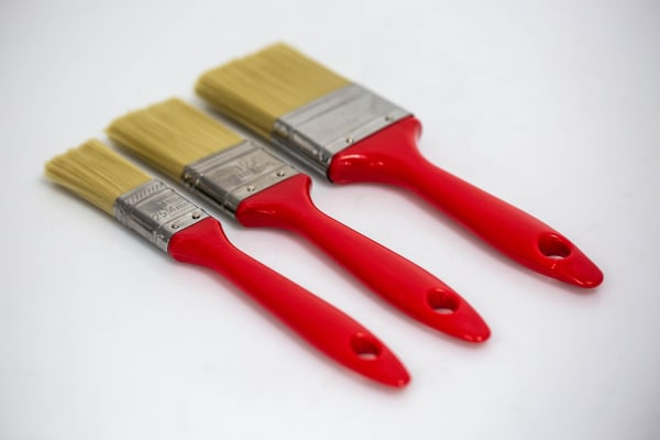 Product image for SET OF 3 ECONOMY SYNTHETIC BRUSHES