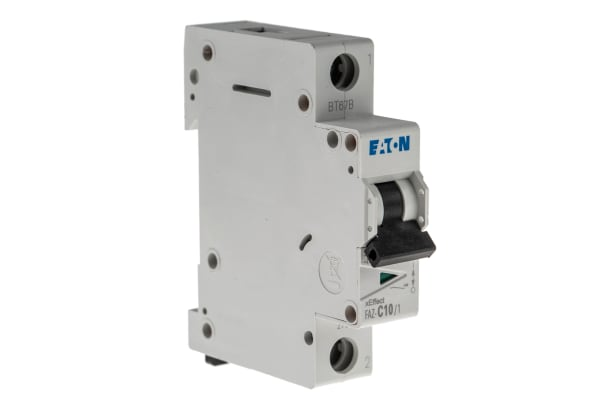 Product image for 10A MCB TYPE C SP 15KA