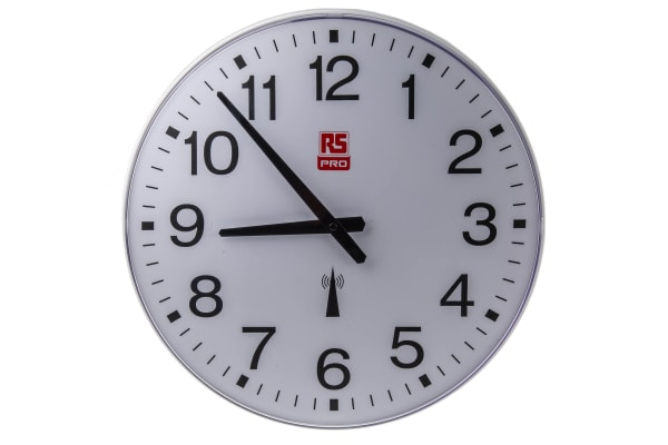 Product image for CLOCK RADIO-CONTROLLED 42CM LONG-LIFE