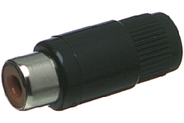 Product image for PHONO LINE SOCKET RED KT 01