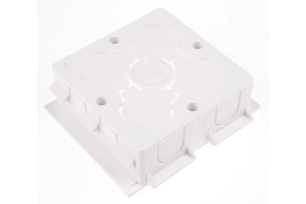 Product image for Schneider Electric uPVC 25mm Mounting Box Cableline