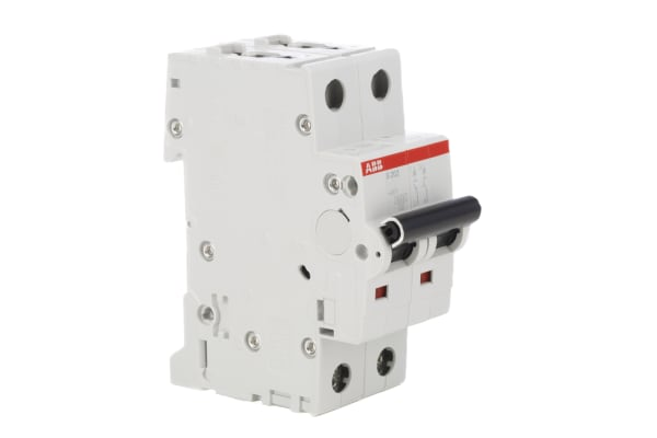 Product image for S200 MCB 2A 2 Pole Type C 10kA