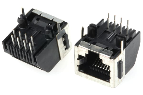 Product image for MODULAR JACK 8 WAYS SHIELDED TYPE 1