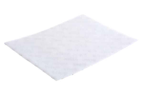 Product image for 7910 TAMPON 235X175MM BLANC