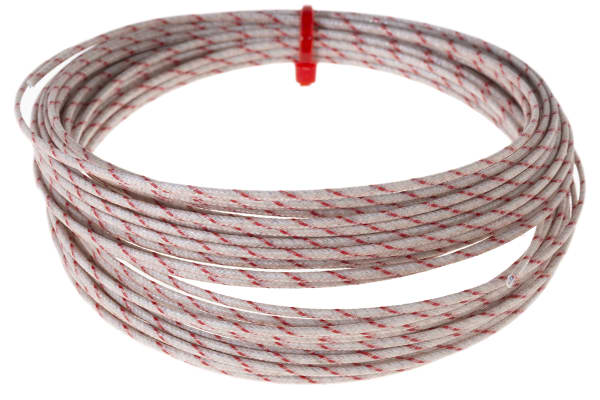 Product image for K solid thermocouple extension wire,10m