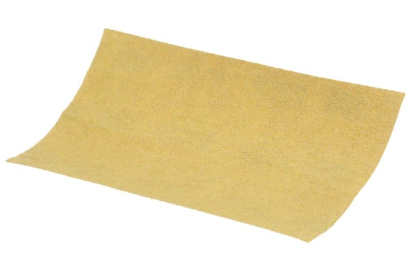 Product image for 3M P120 Fine Sanding Sheet, 127mm x 70mm