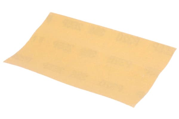 Product image for 3M P320 Very Fine Sanding Sheet, 127mm x 70mm