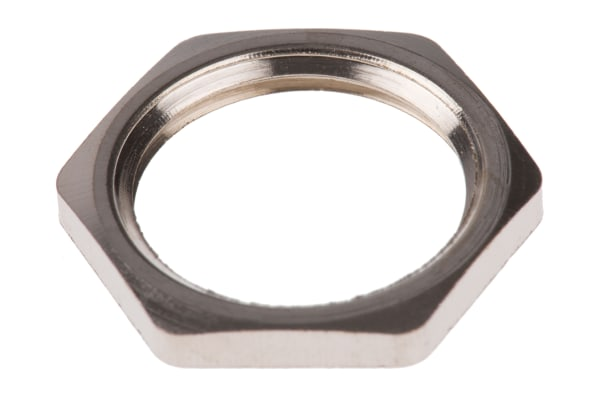 Product image for HEXAGONAL LOCK NUT M20X1.5 METAL