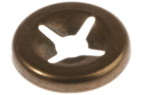 Product image for Open style push-on retainer,2.5mm shaft