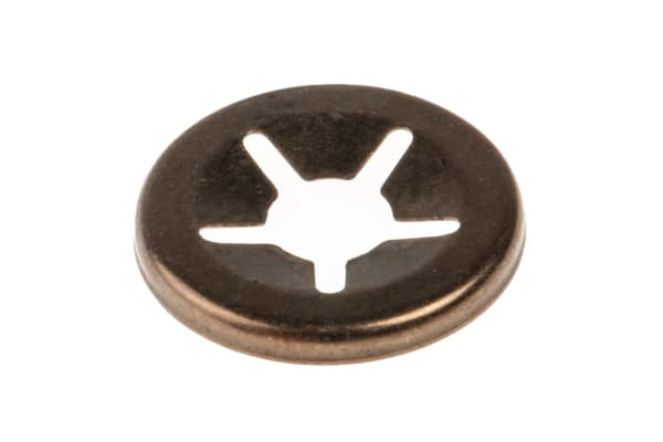 Product image for Open style push-on retainer,4mm shaft