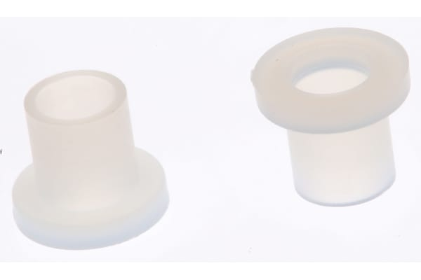 Product image for Nylon screw insulator, M3x4mm