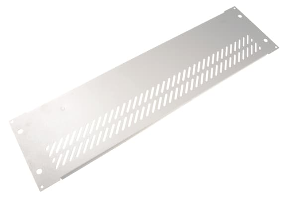 Product image for Rear panel for 19in rack case,3Ux84HP