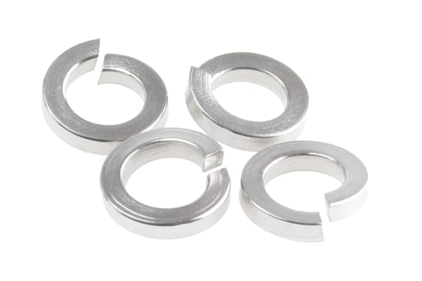 Product image for A4 stainless steel spring washer,M5