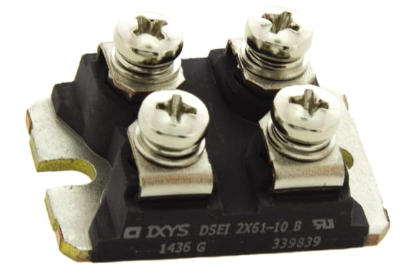 Product image for 1000V 60A DUAL FRED DIODE SOT2