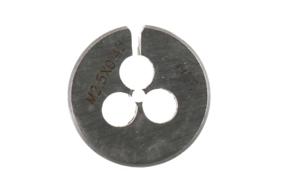 """Product image for Die M2.5x0.45mm pitch, stock size 13/16"""""""