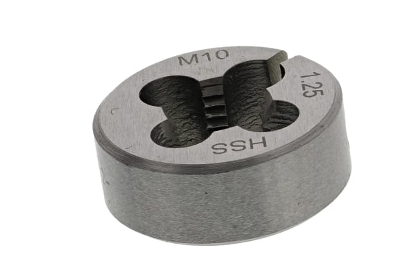 Product image for Split die HSS M10x1.25mm