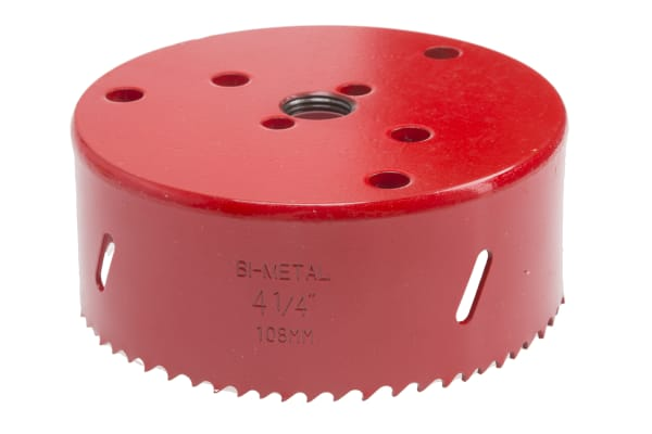 Product image for Bi-metal hole saw 108mm dia