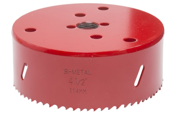 Product image for Bi-metal hole saw 114mm dia