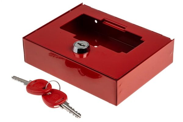 Product image for GLASS FRONT EMERGENCY KEY CABINET