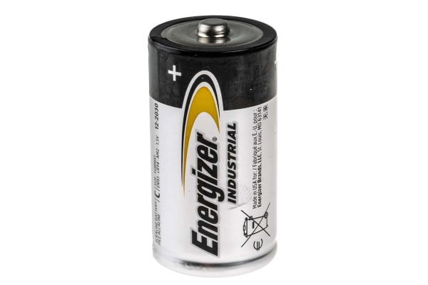 Product image for Energizer Industrial Energizer 1.5V Alkaline C Batteries With Standard Terminal Type