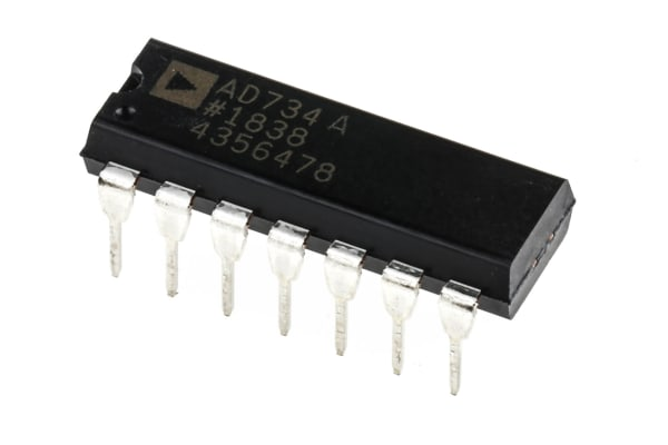 Product image for 4 quad Analog Multiplier AD734ANZ