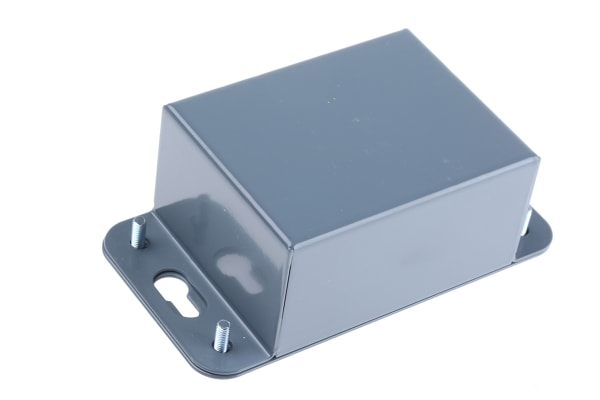 Product image for 1mm mild steel flanged case,85x65x42mm