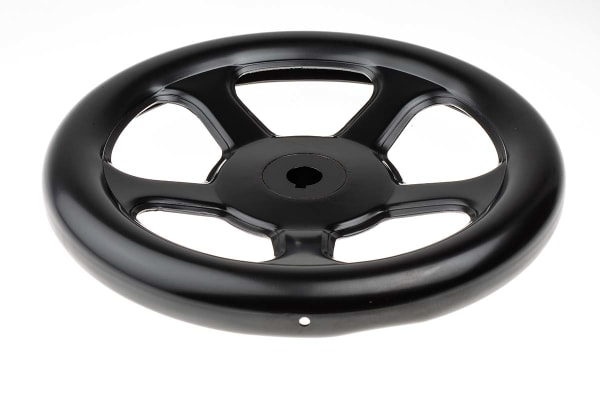 Product image for Handwheel,steel,plastic coated,250mm