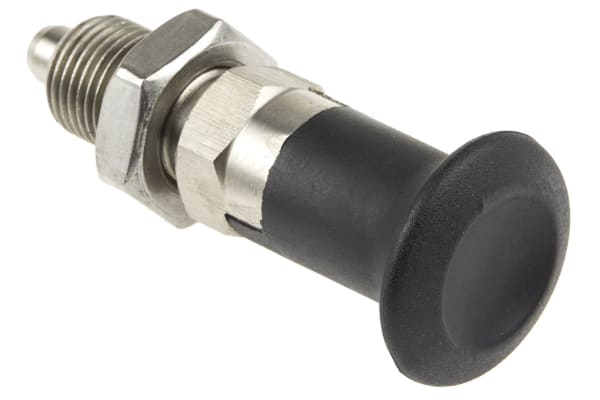 Product image for Index plunger,rest,stainless steel,8mm
