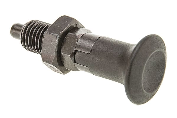 Product image for Index plunger,rest,steel,6mm