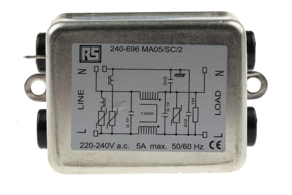 Product image for Transient voltage protection filter,5A