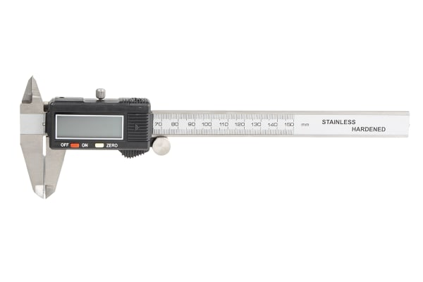 Product image for Metric electronic caliper,150mm