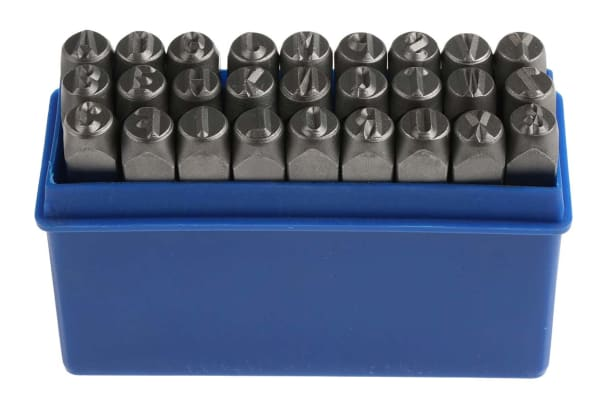 Product image for 8MM A-Z MARKING PUNCHES