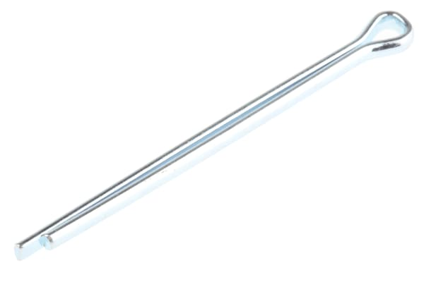 Product image for ZnPt carbon steel cotter pin,2.4x38.1mm
