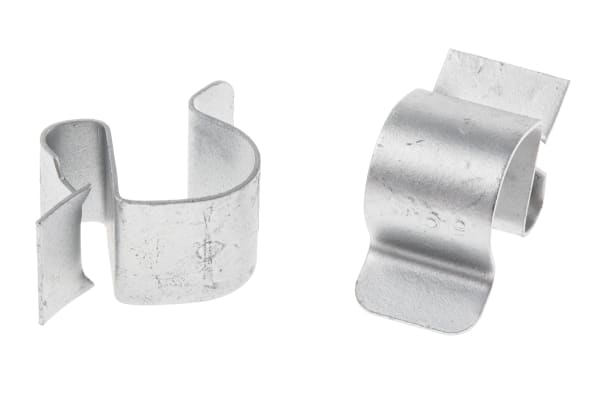 Product image for Edge fixing clip,4-7 flange 15-19mm dia