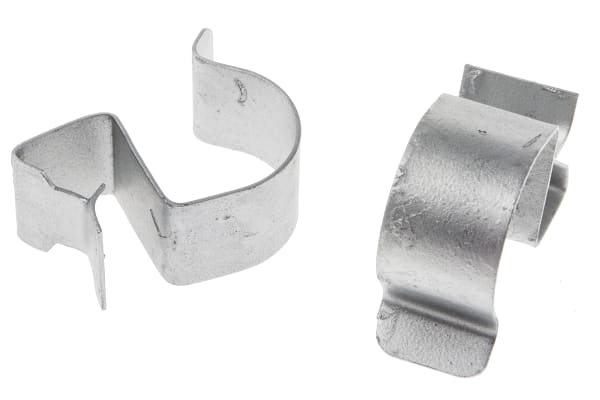 Product image for Edge fixing clip,8-12 flange 20-24mm dia