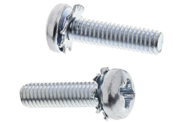 Product image for External shake proof washer sems,M4x16mm