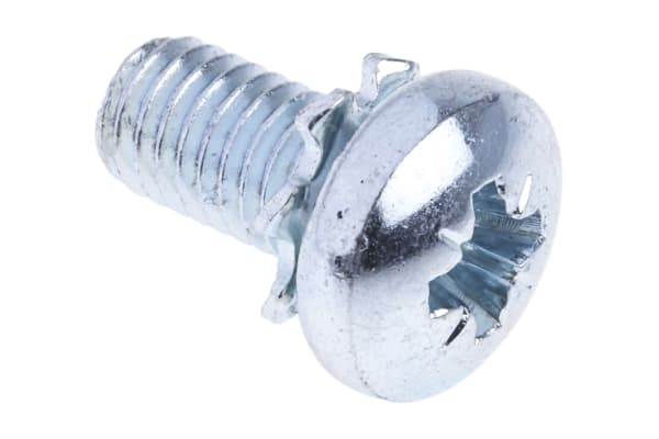 Product image for External shake proof washer sems,M5x10mm