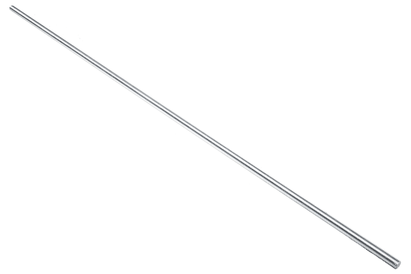 Product image for A2 stainless steel studding,M5x1m