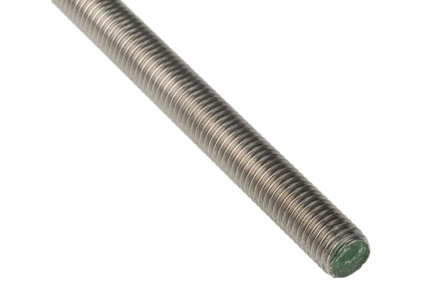 Product image for A2 stainless steel studding,M12x1m